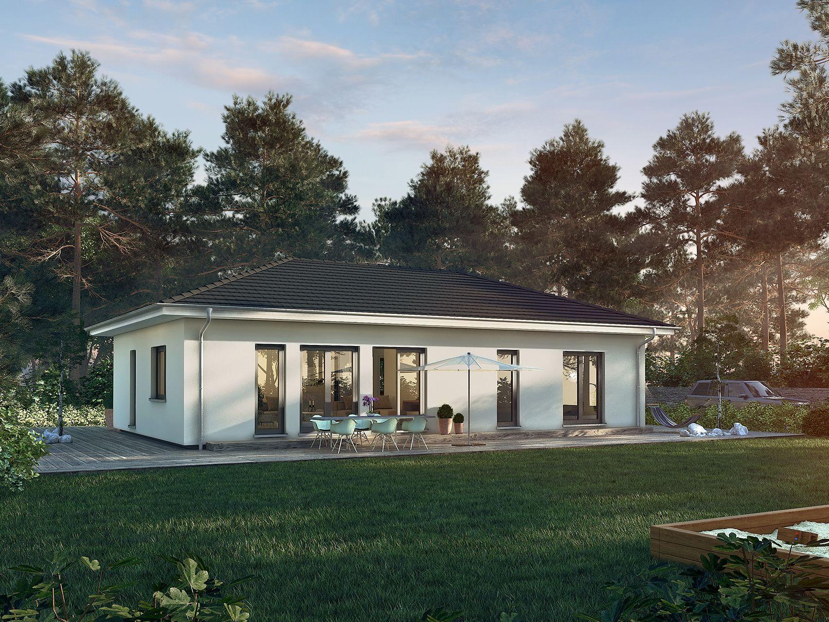 fertighaus traumhaus sch nerwohnen eigenheim musterhaus architektur architecture modern. Black Bedroom Furniture Sets. Home Design Ideas