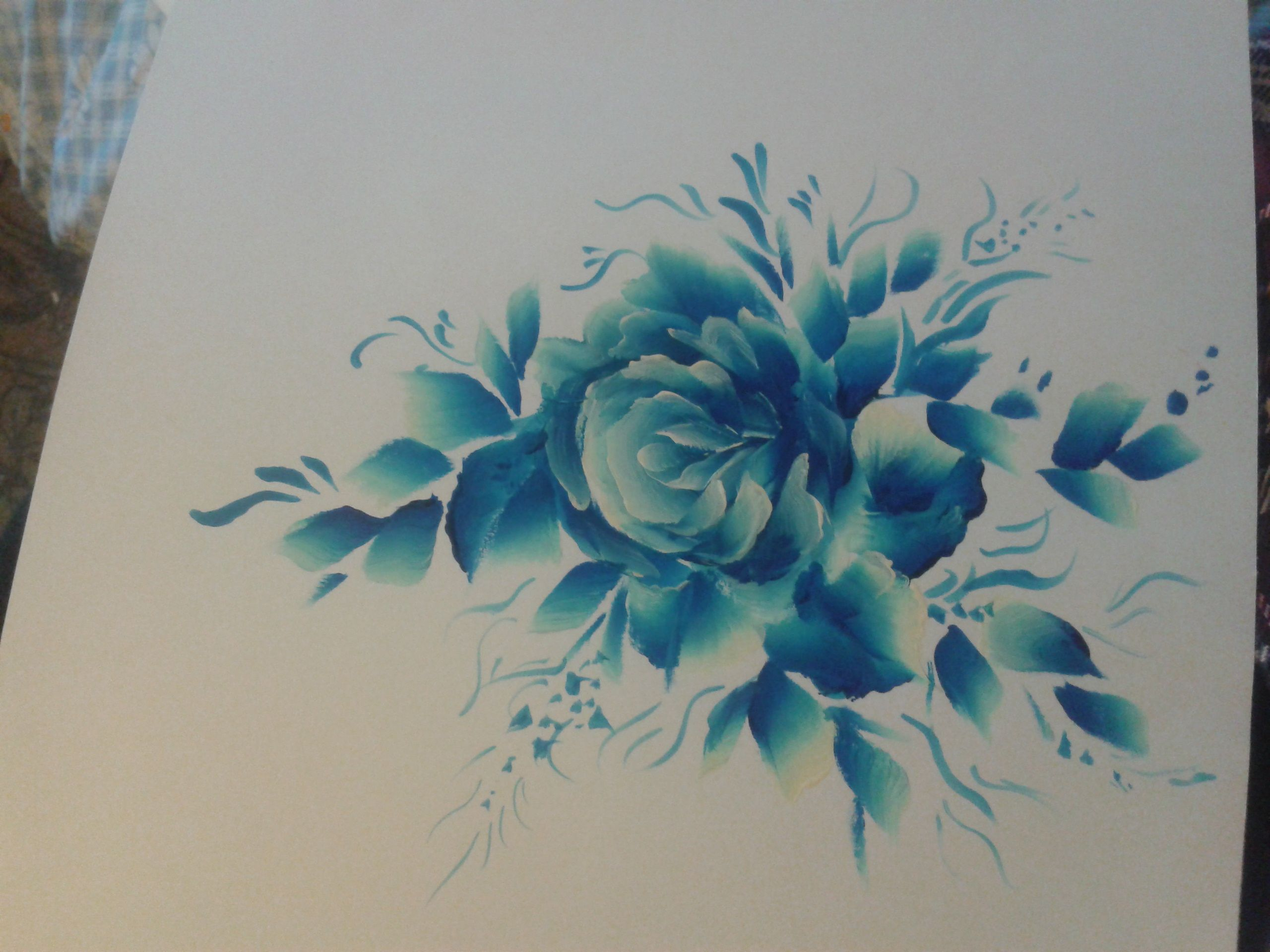 Китайская роспись. Эскиз 14.