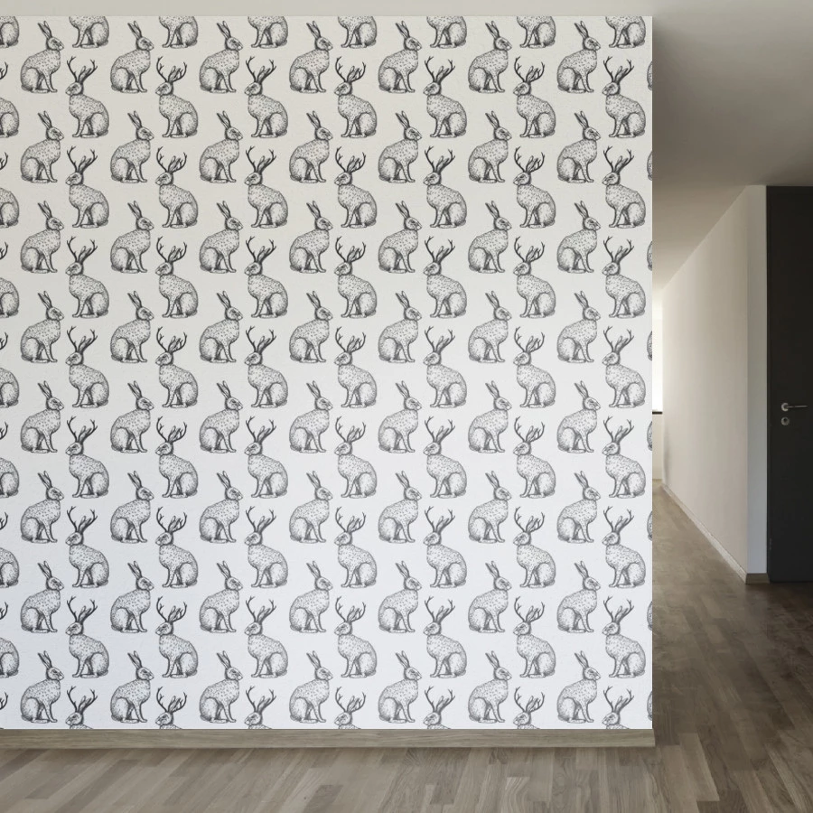 The Legend Of The Jackalope Wallpaper Removable