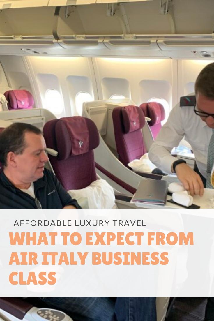 Air Italy Business Class Business class, Business class
