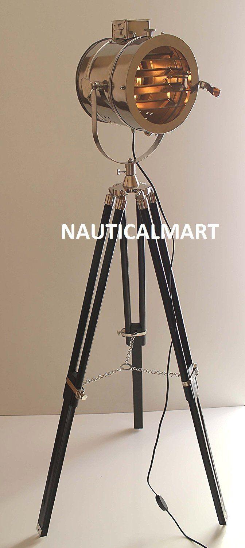 Nauticalmart Floor Lamp home Decorative Vintage Design Tripod ...
