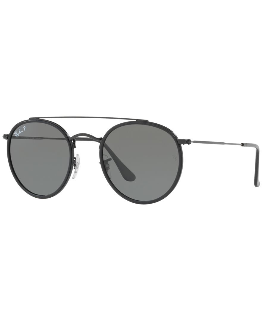 15811032c Sunglasses, RB3647N ROUND DOUBLE BRIDGE in 2019 | Shop the look ...