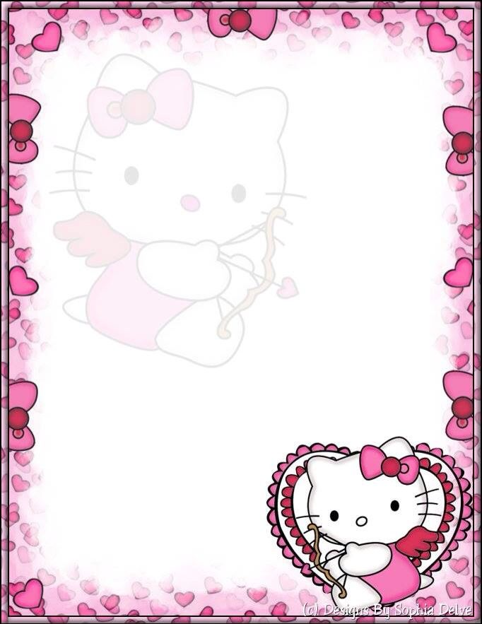 Pin By Leila Hind On Letter Paper Hello Kitty Wallpaper