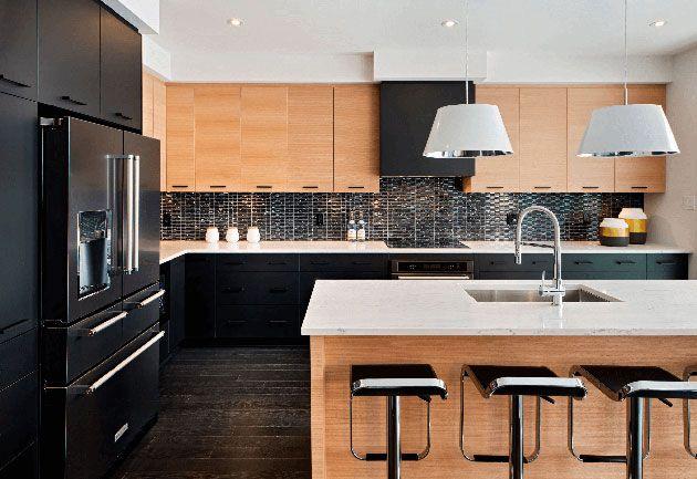 Cocinas negras 50 cocinas elegantes, modernasu2026 únicas Cocinas - cocinas elegantes