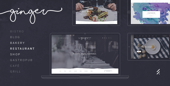 Ginger: A Modern Multi-Purpose Restaurant WordPress Theme (Restaurants & Cafes) - http://wpskull.com/ginger-a-modern-multi-purpose-restaurant-wordpress-theme-restaurants-cafes/wordpress-offers