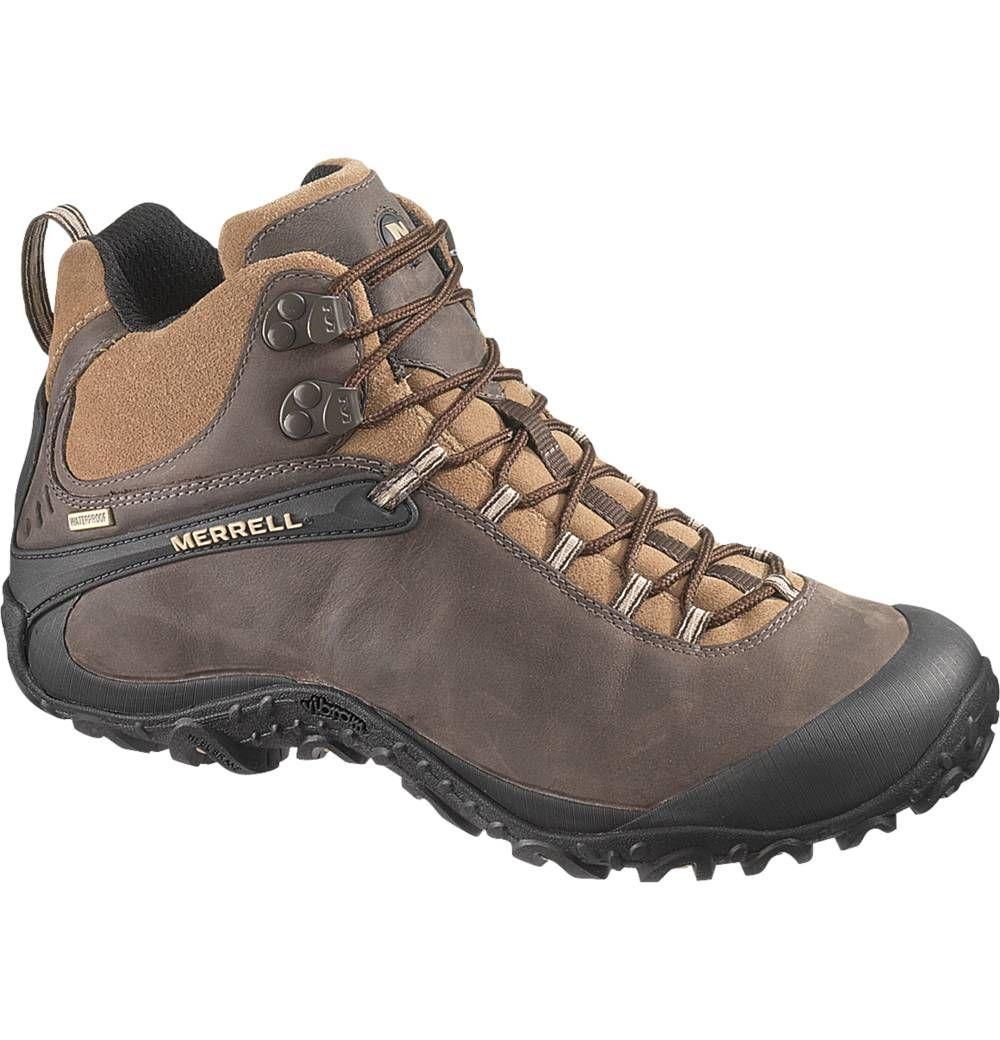 71ec372b04 Chameleon4 Mid Waterproof - Men's - Hiking Boots - J15035 | Merrell ...
