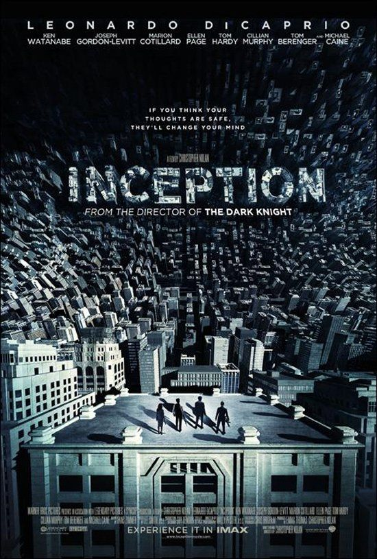 Amazing City Maze Inception Movie Inception Movie Poster Inception Poster