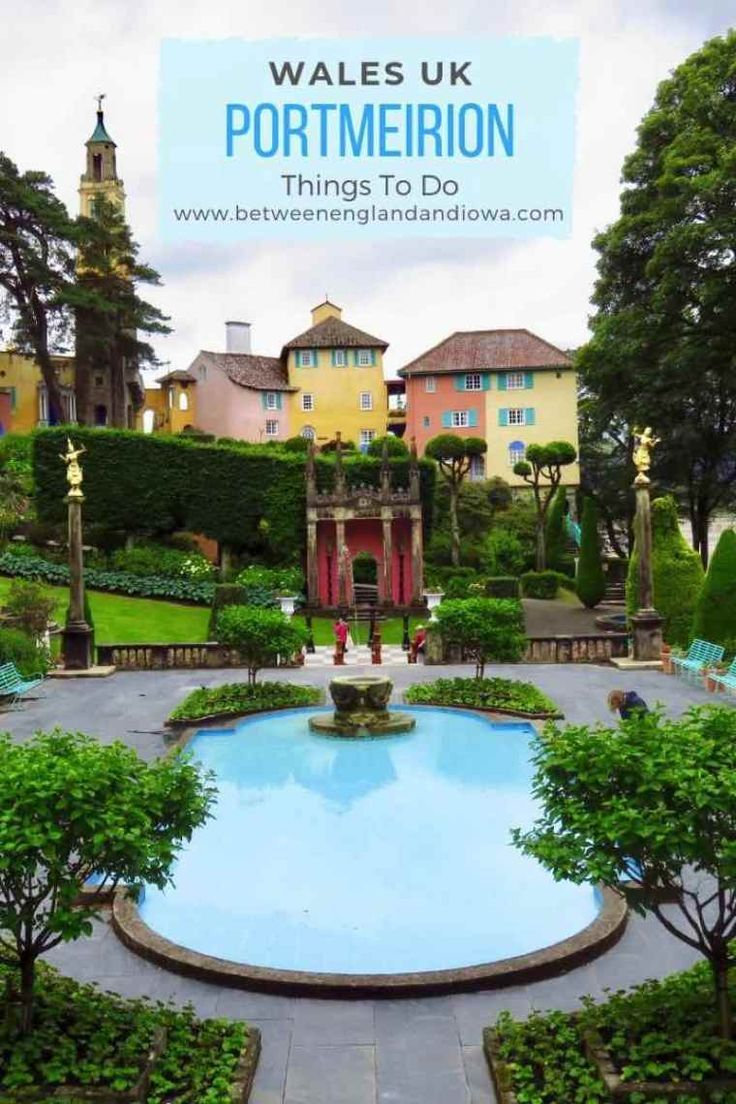 Be Seeing You! Things To Do In Portmeirion Wales #visitwales