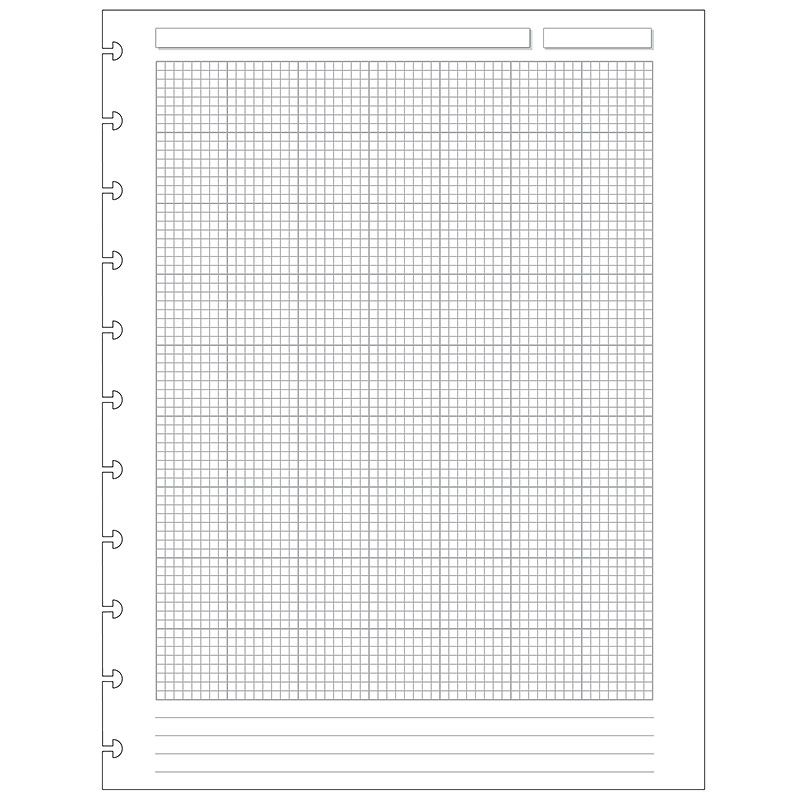 Special Request™ Engineer Grid (100 sheets), Circa Letter - Circa - hexagonal graph paper template