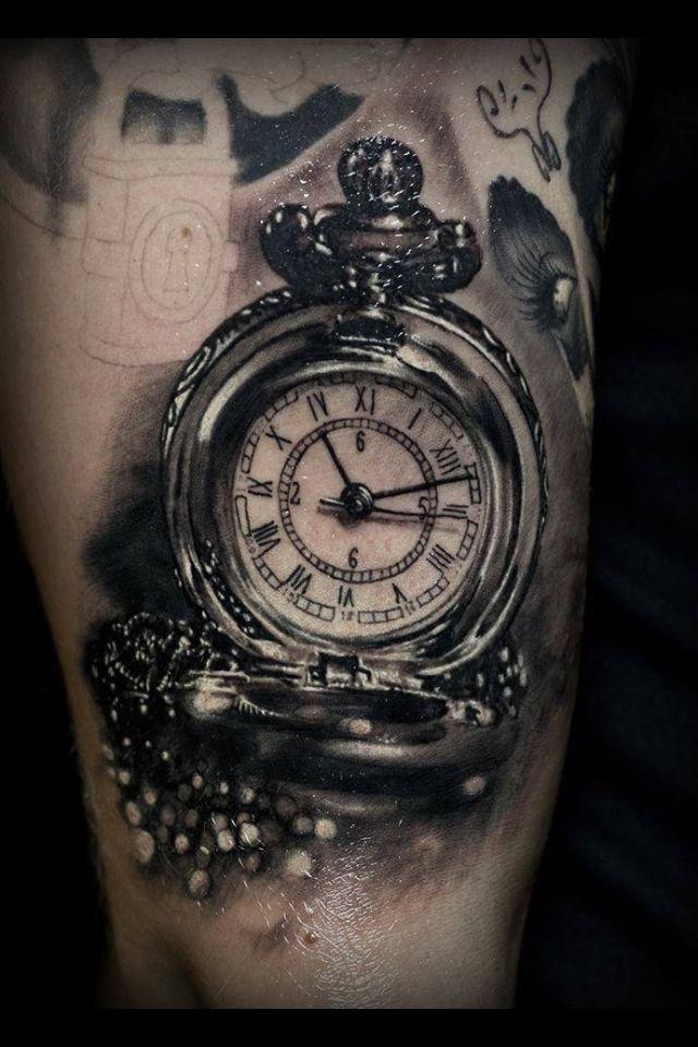 Tattoo Idea Watch Tattoos Time Tattoos Old Clock Tattoo