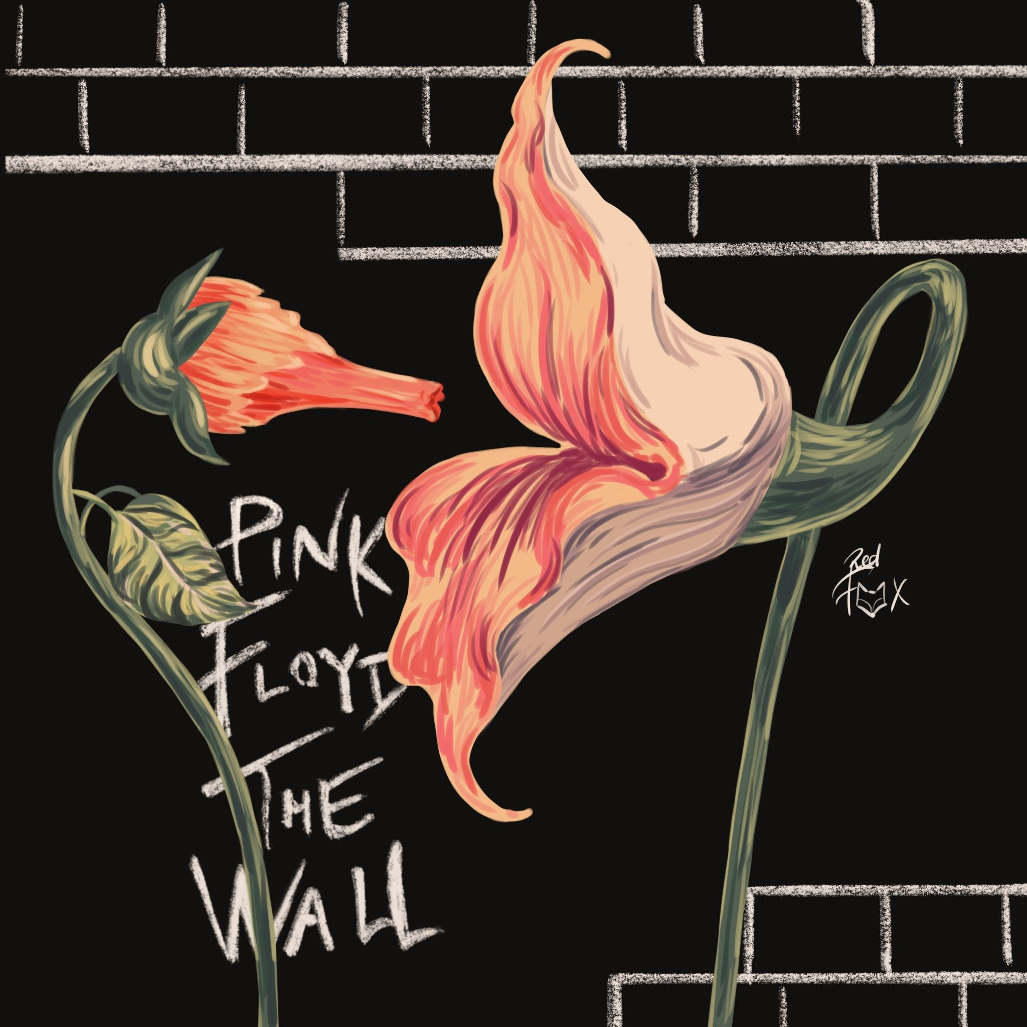 Pink Floyd Flowers Empty Spaces The Wall Pink Floyd In