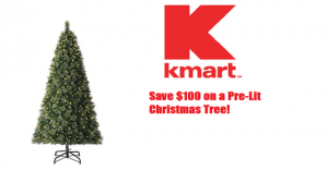 kmart save 100 on a jaclyn smith pre lit christmas tree - Kmart Pre Lit Christmas Trees