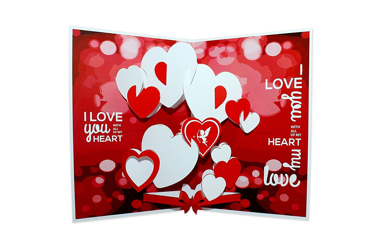 Love Pop Up 3D Greeting Card Amazonin Office Products