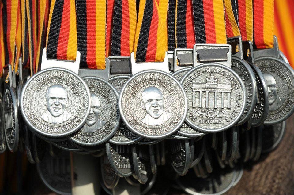 Berlin Marathon Medaille 2019