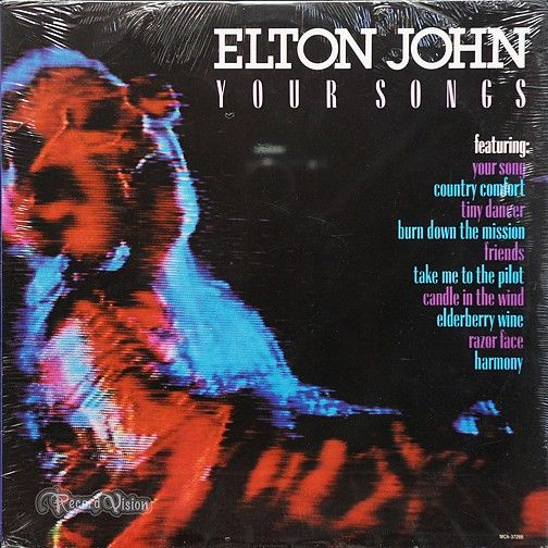 """""""Your Songs"""" features major hits from Elton John's award-winning career as a singer-songwriter; among these songs are """"Your Song"""", """"Tiny Dancer"""" and the tribute to Marilyn Monroe """"Candle in the Wind"""". The ballad """"Your Song"""" peaked within to top 10 on both the UK and US charts. In 1998, """"Your Song"""" was inducted into the Grammy Hall of Fame. (Vinyl LP)"""