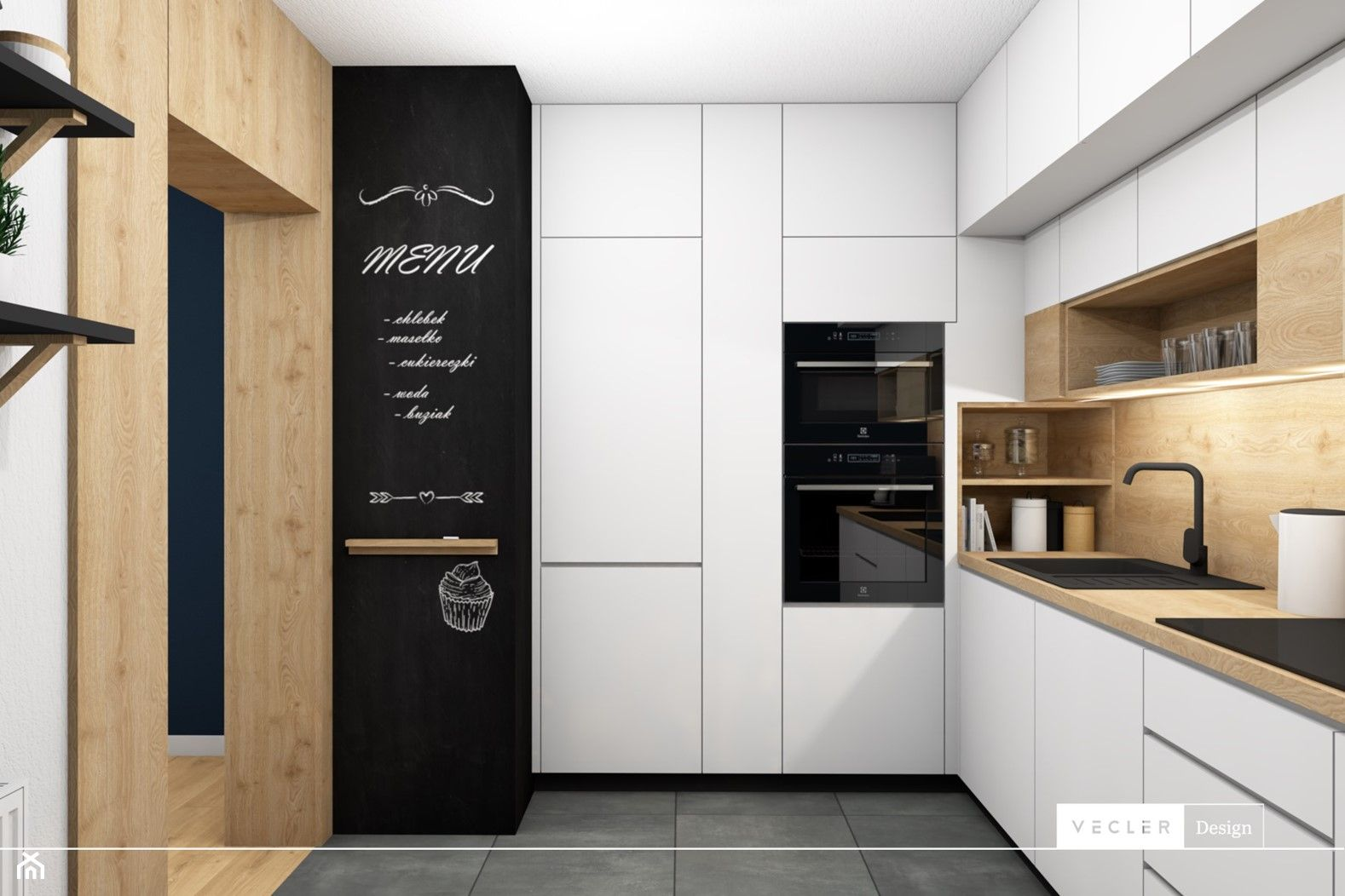 Kuchnia Styl Nowoczesny 2020 Modern Wood Kitchen White Kitchen Design Kitchen Design