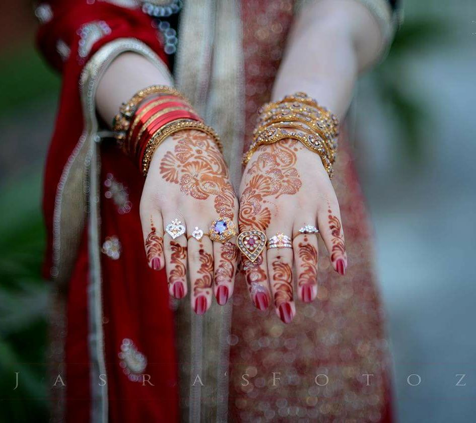 Jasra\'s photography | Beautiful Bridal hands | Pinterest | Gold ...