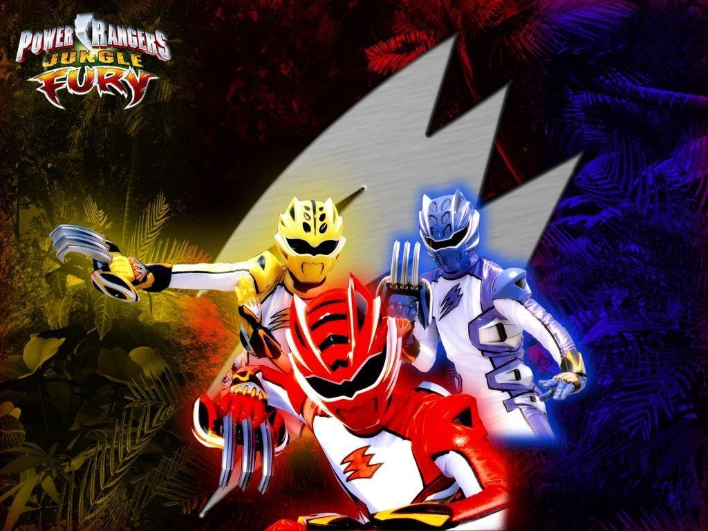 Power Rangers Jungle Fury Desktop Wallpaper Number 2 1024 X 768