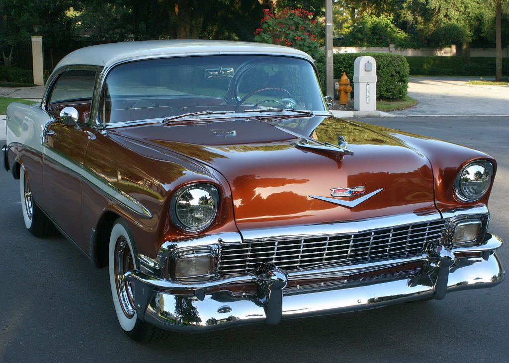 1956 Chevy Bel Air Sport Coupe…Re-Pin brought to you by #CarInsurance agents a…