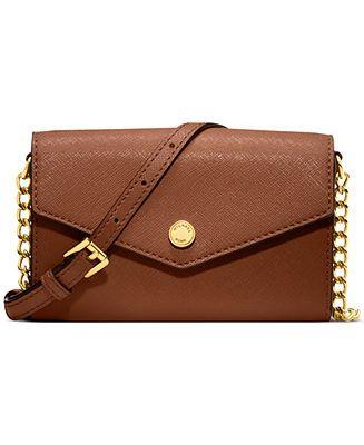 MICHAEL Michael Kors Handbag, Electronics Phone Crossbody - Crossbody & Messenger Bags - Handbags & Accessories - Macy's