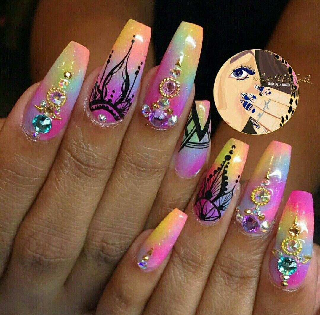 Pretty nails - Http://miascollection.com Nail Art Designs I Like Pinterest