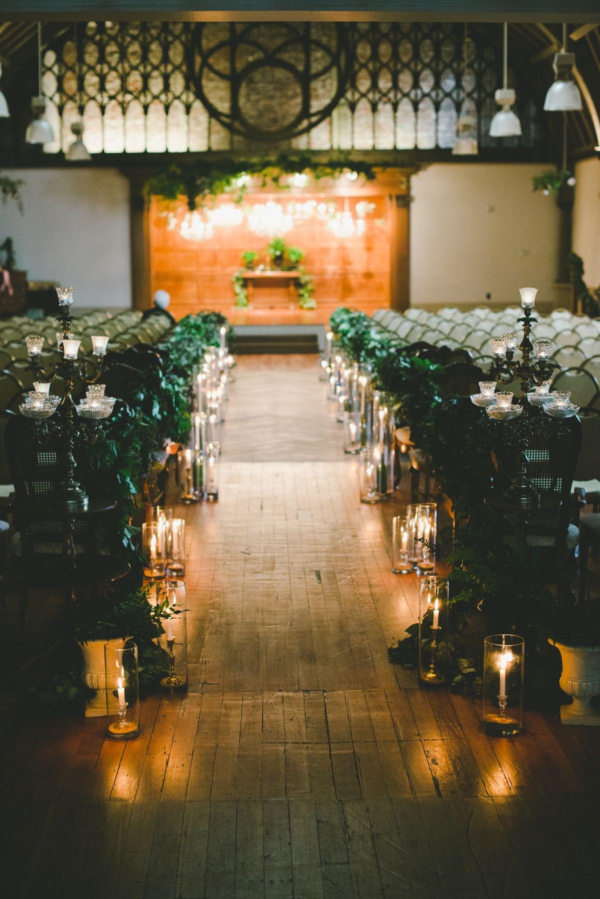 Romantic Wedding At The Loft On Pine Wedding Ceremony Wedding Ceremony Backdrop Ceremony Decorations
