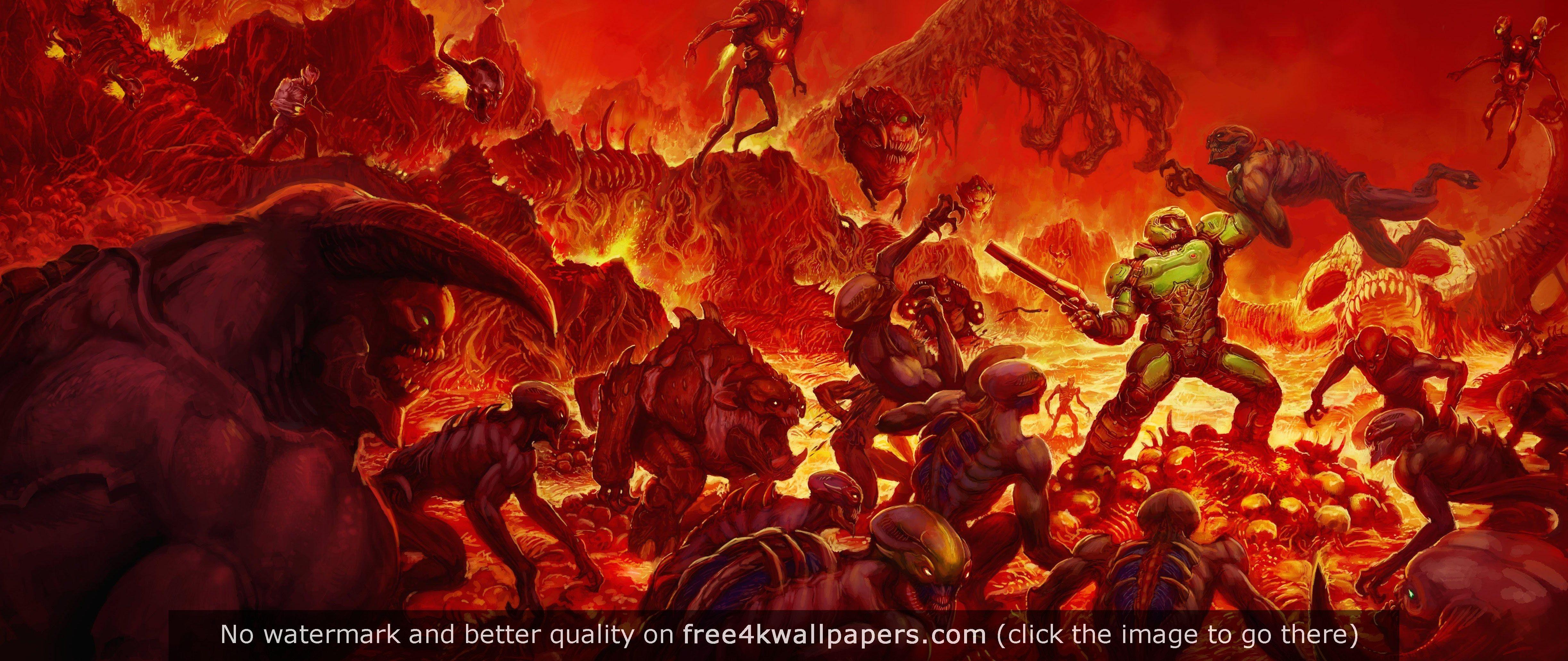 DOOM Alternate Cover wallpaper Doom cover, Doom game