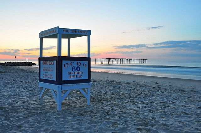 60th Street Lifeguard Stand Ocean City Nj Ocean City Ocean City Nj Lifeguard Stands