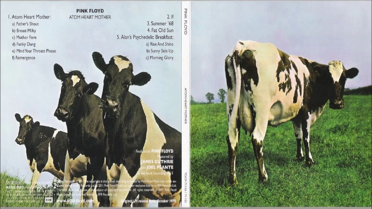 73c37652 Pink Floyd: Atom Heart Mother 1970 #PinkFloyd #DavidGilmour #Music ...