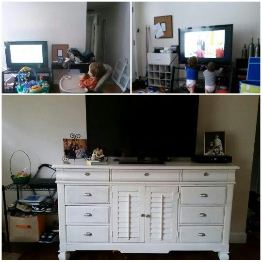 American Signature Furniture Willow Grove Pa: Living Room Makeover. Shoe Storage. Dresser For Tv Stand