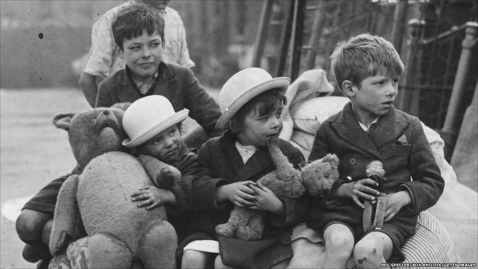 Image result for the blitz children evacuation