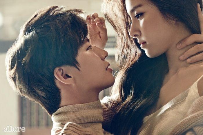 2014.12, Allure, Song Jae Rim, Kim So Eun