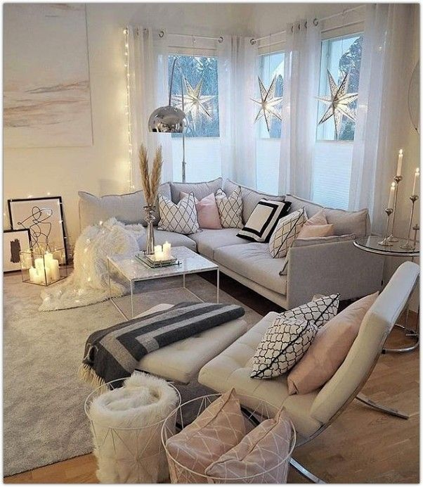 wohnzimmer ideen 2019 - DIY Ideen #industrialfarmhouselivingroom
