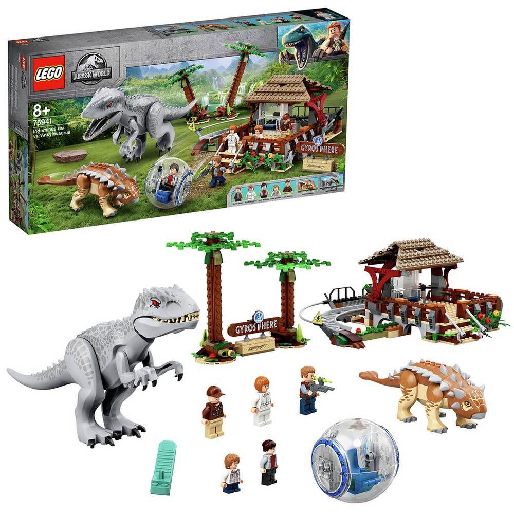 Buy LEGO Jurassic World Indominus Rex vs. Ankylosaurus Set