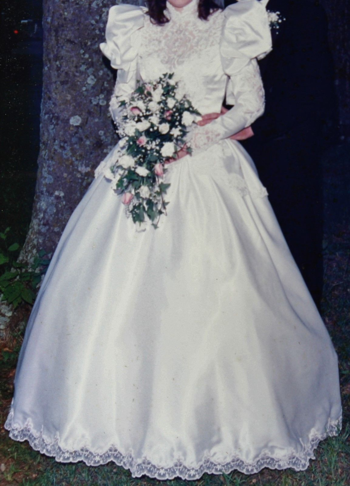 Gorgeous eve of milady wedding dress size fulllength gown made