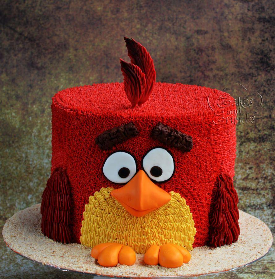 Angry Birds Birthday Cake, Angry