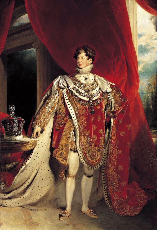 Jorge IV del Reino Unido en traje de Coronación | REINO UNIDO ...