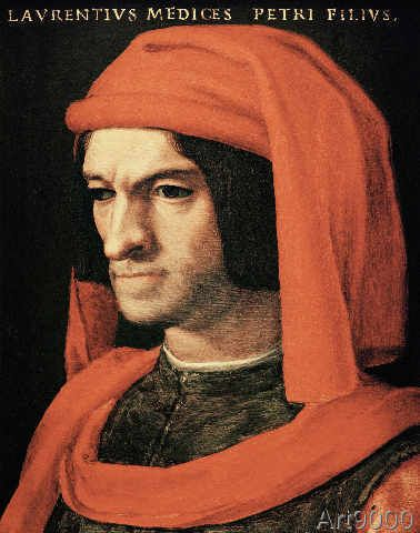 Agnolo di Cosimo Bronzino - Lorenzo de' Medici / Painting / Bronzino