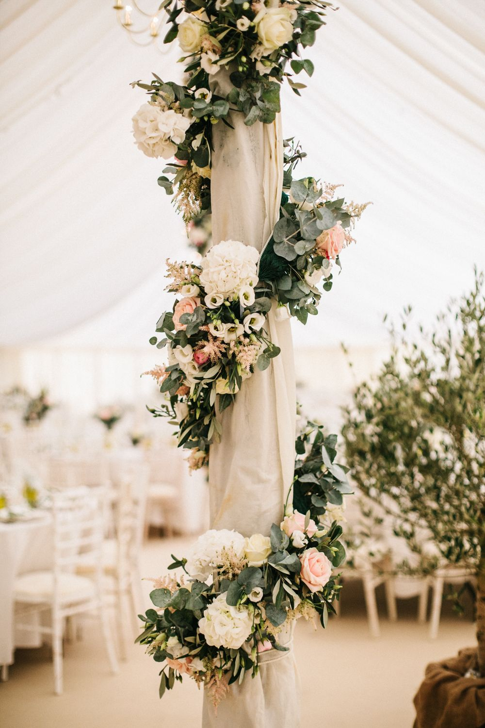 Elegant autumnal wedding at rugby school with bride in