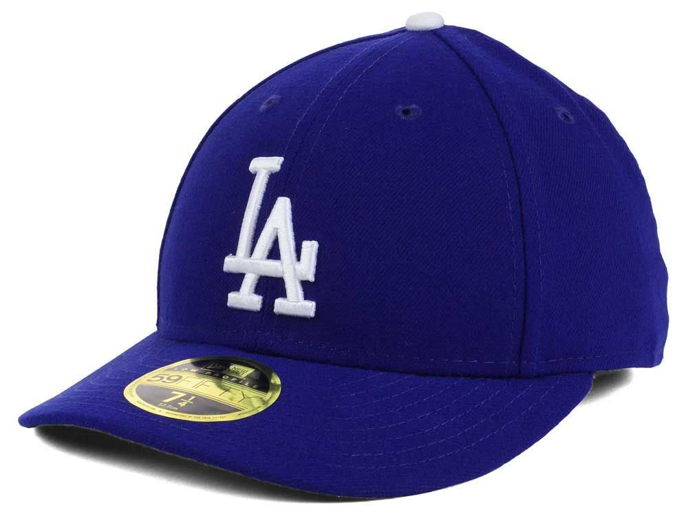 96e03f00319 Los Angeles Dodgers New Era MLB Low Profile AC Performance 59FIFTY ...