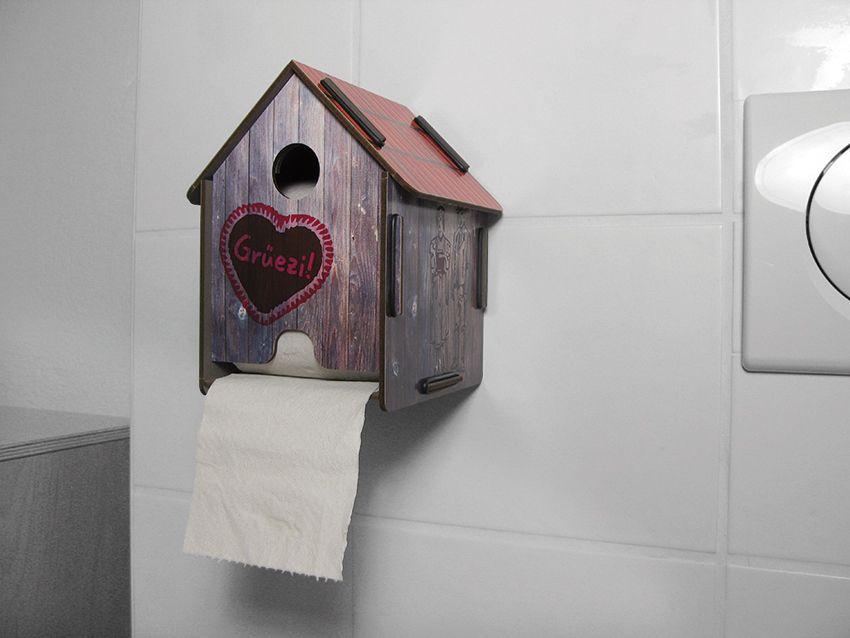 Gruezi In Dieser Hutte Kann Man Einiges Abwickeln Die Originelle Halterung Von Werkhaus Macht Jede Noch So Langweilige Rolle Toilettenpapier Zum Highlight Au