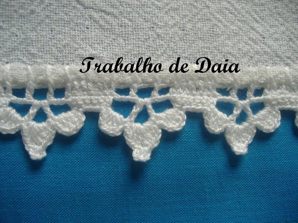 Álbumes web de Picasa | crochet edging and borders 3 | Pinterest ...