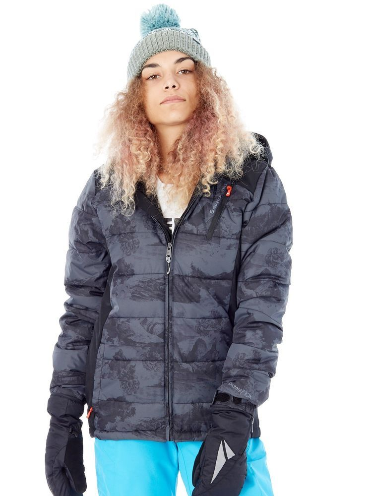 schwarz True Protest SnowboardjackeSkisport Cordova Damen PkZXOiu
