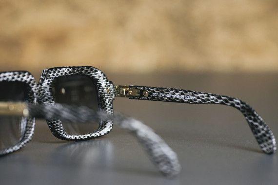 """Cazal Eyewear 607 """"Snakeskin"""" Collection"""