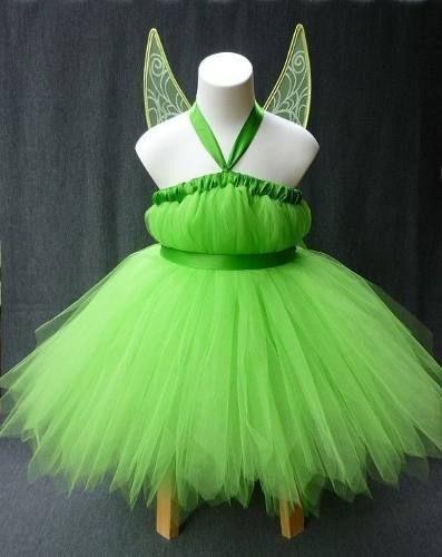 Disfraz Campanita Tutu Tinkerbell Costume Tutu Girls