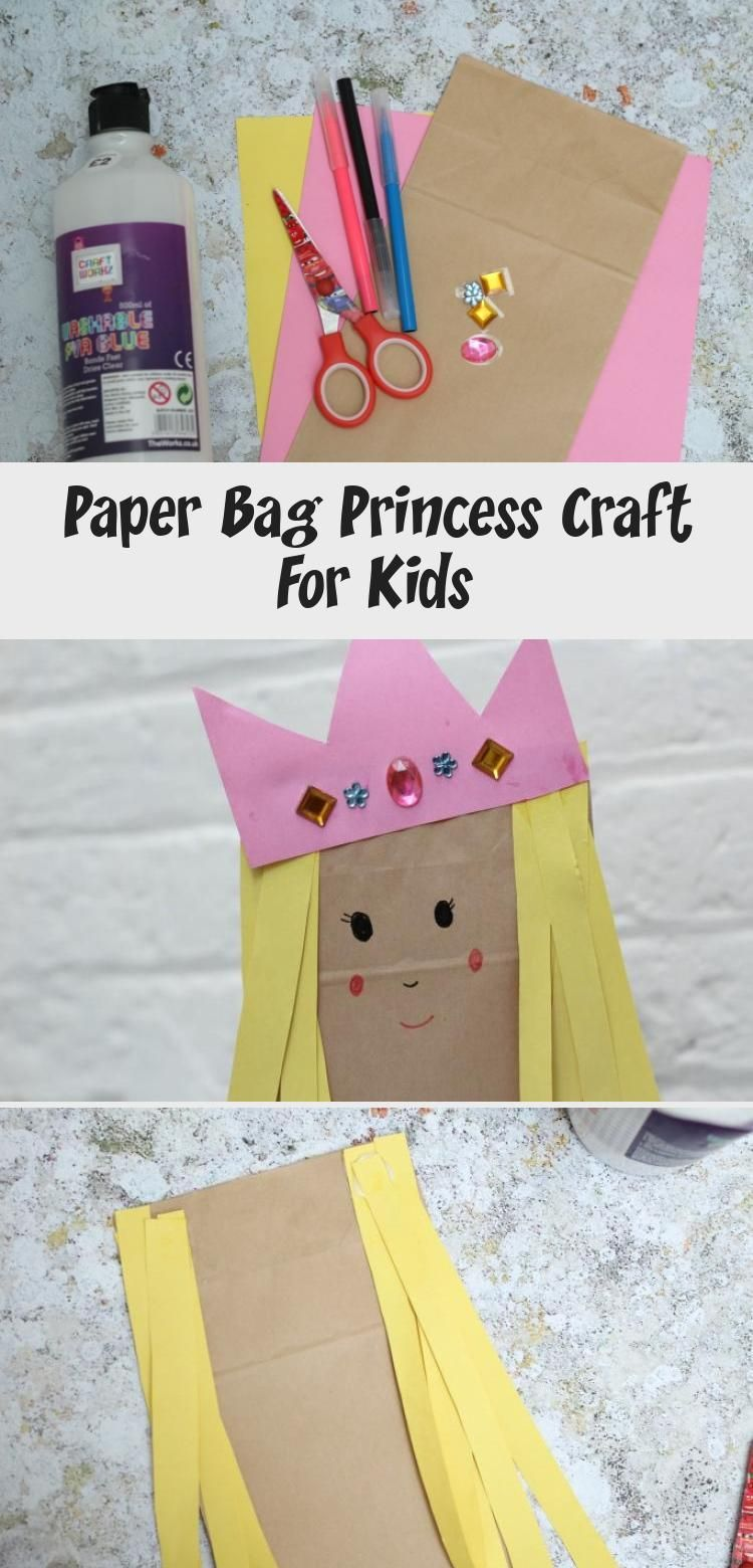 Paper Bag Princess Craft For Kids In 2020