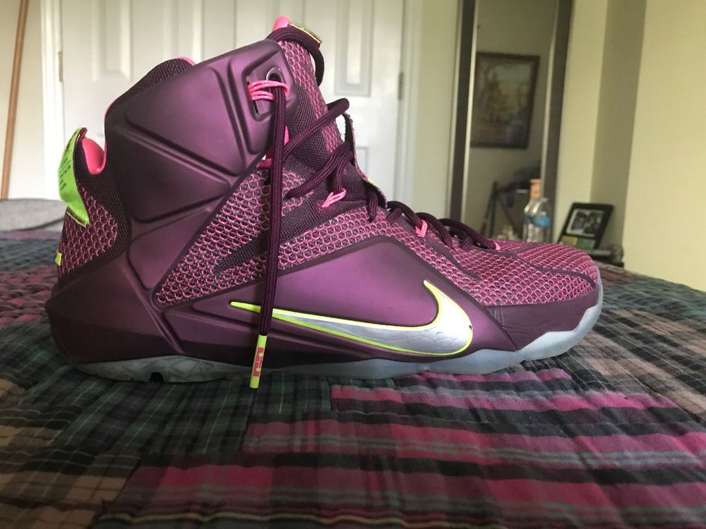 best sneakers 59a53 c3300 Nike Lebron 12 Double Helix And What If Size 13 #fashion ...