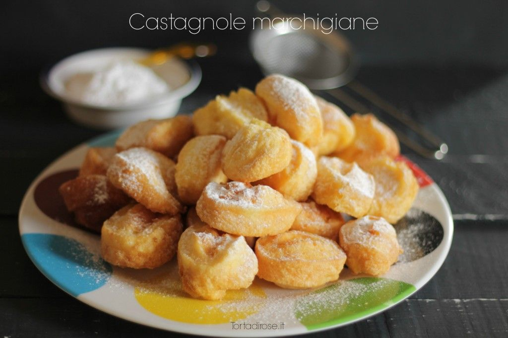 Castagnole marchigiane/a typical carnival sweet from Marche region