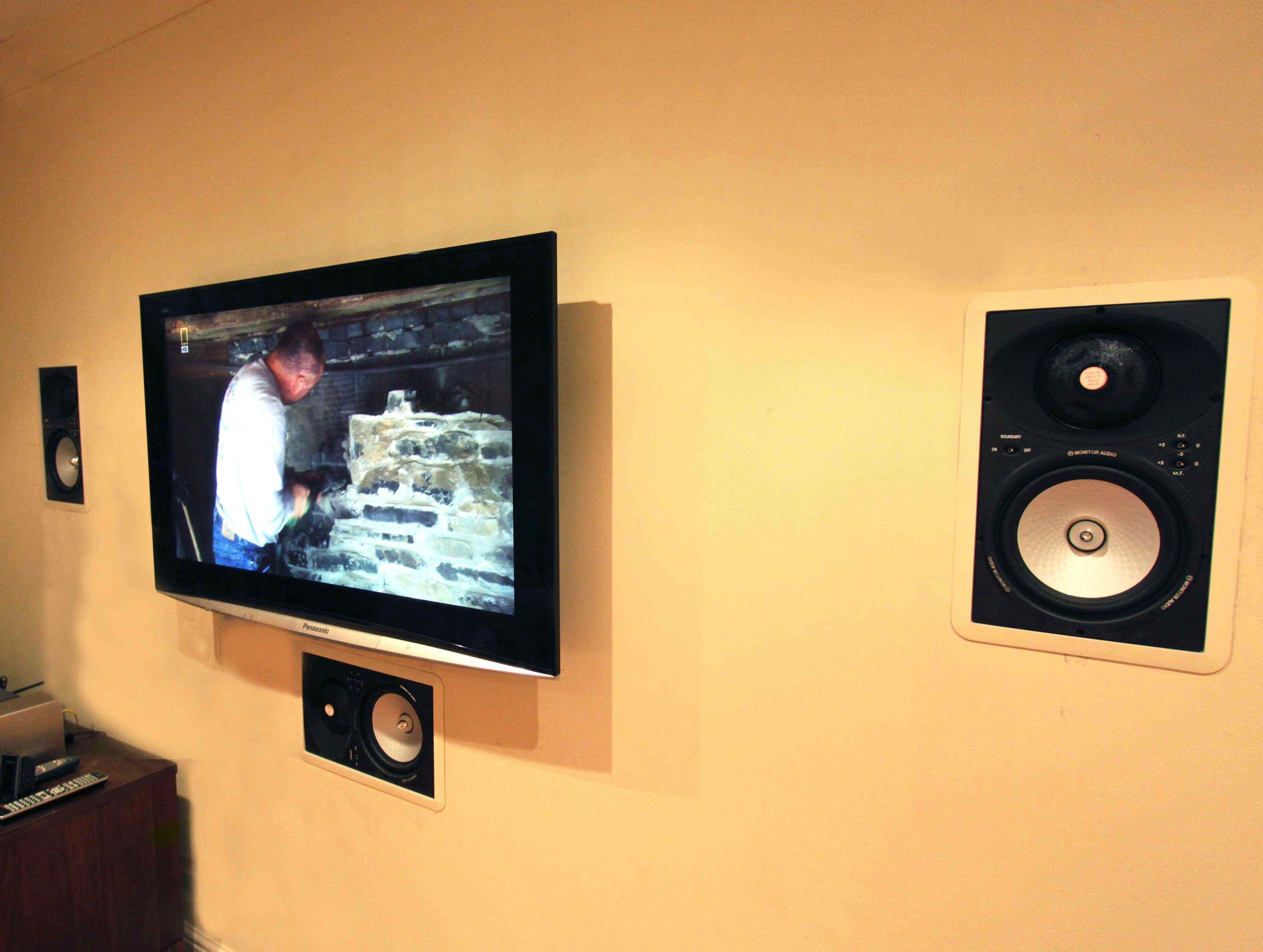 In Wall Speakers Home Theater home theatre in-wall speakers - google search | home automation