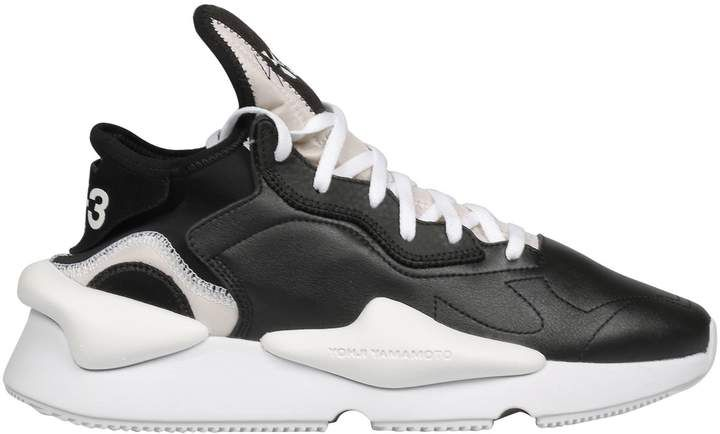 abcbf042f Y-3 Contrast Lace-up Sneakers. Y-3 Contrast Lace-up Sneakers Y 3 Yohji  Yamamoto ...